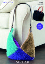 Sirdar Touch - 7785 Bags Knitting Pattern